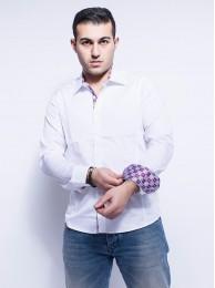 Herren Businesshemd Weiß